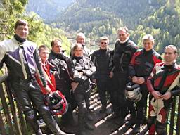 Sicherheitstraining im Jura 2005