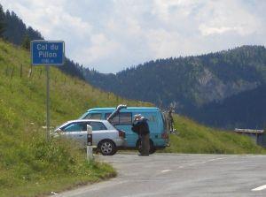 1.Pass:Col du Pillon bei Les Diablerets, 1546 m