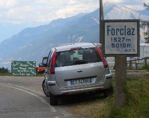 3.Pass:Col de la Forclaz (der 1. von 3), 1527 m