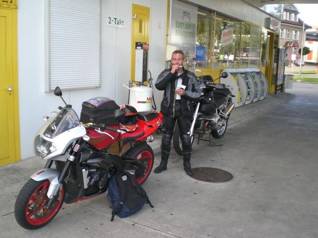 Ausfahrt August 2008