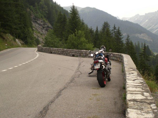 in Richtung Bernina